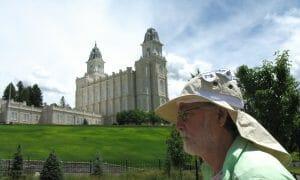The LDS Temple in Manti Utah