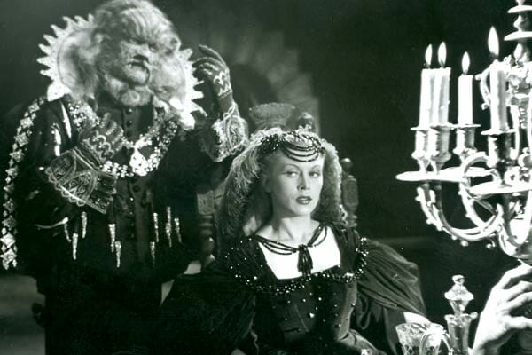 Jean Marais And Josette Day In Cocteaus Beauty And The Beast
