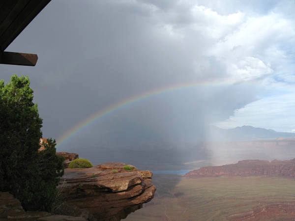 Rainbow at Dead Horse State Park