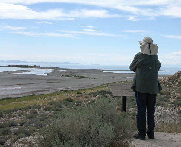 Antelope Island Sandy Shore