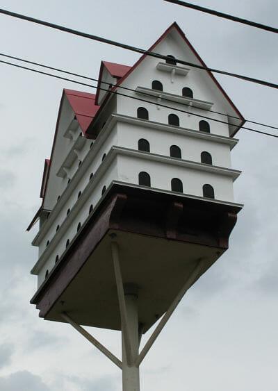 Birdhouse in Gilgal Garden