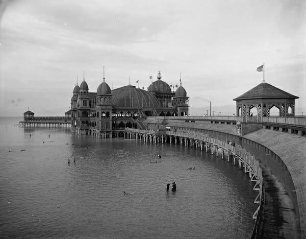 Saltair I Pavillion And Pier
